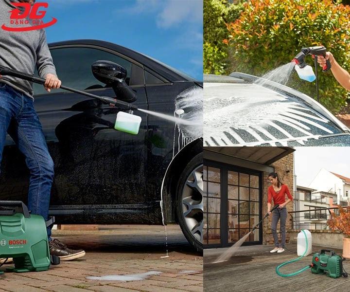 Sử dụng máy rửa xe Bosch Easy AQT