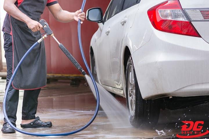Khả năng phun xịt của model máy rửa xe Honda