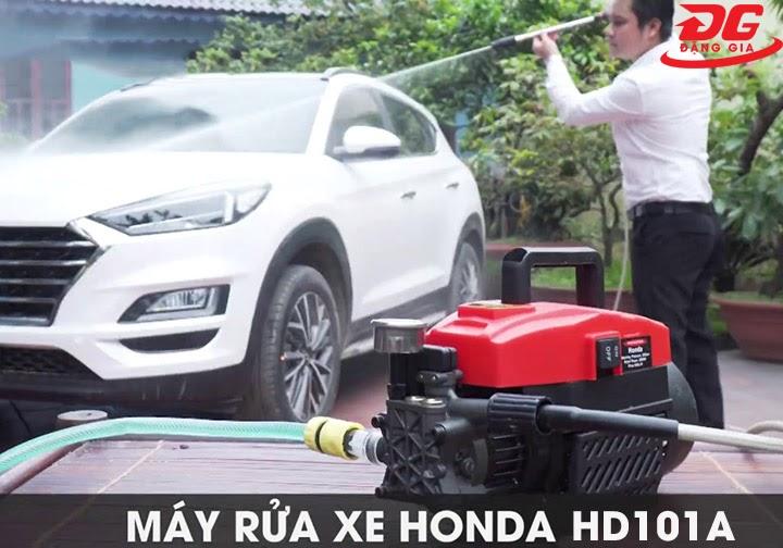 Honda HD101A có dây phun dài thuận tiện di chuyển làm việc