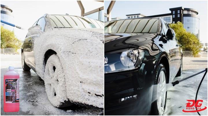 Hiệu quả làm sạch của dung dịch rửa xe BIO 20