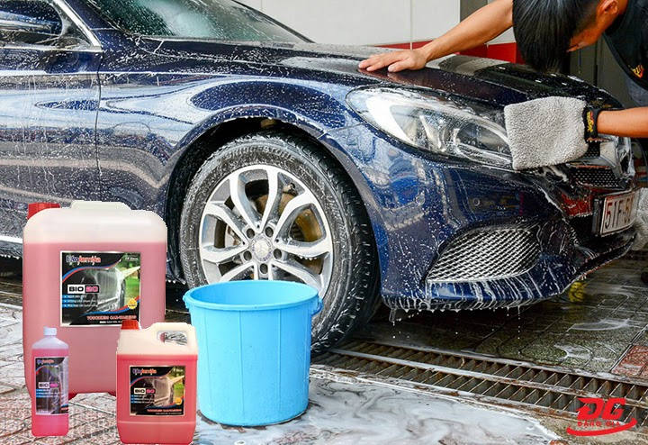 Hướng dẫn sử dụng nước rửa xe không chạm BIO 20