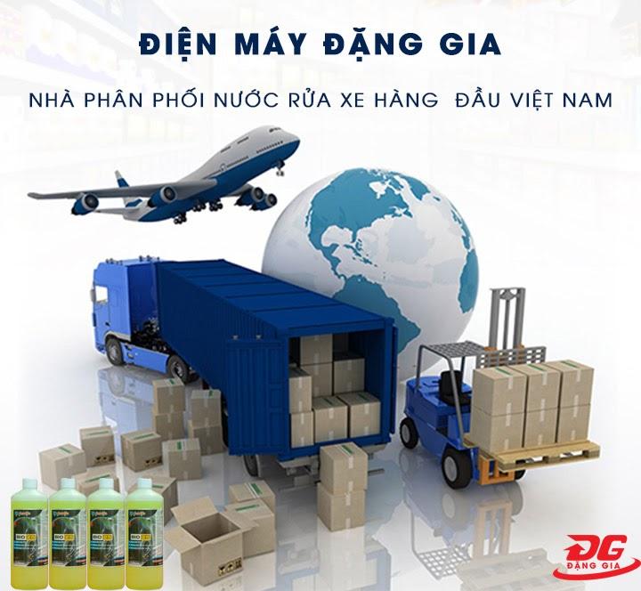Đặng Gia phân phối nước rửa xe BIO 25