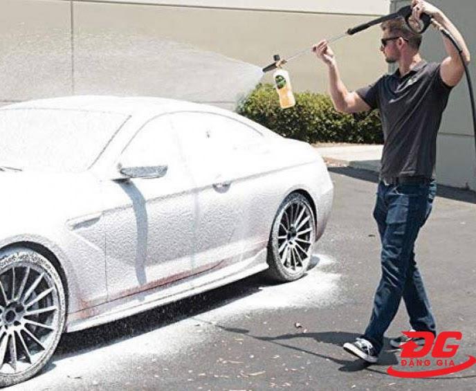 Ưu điểm của dung dịch rửa xe Bio 25