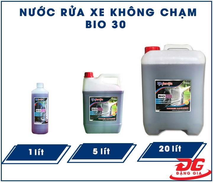 Các sản phẩm dung dịch rửa xe BIO 30