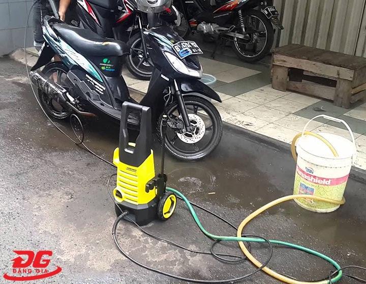 Lưu ý khi sử dụng máy rửa xe Karcher K2 360
