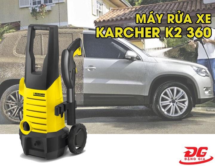Máy rửa xe Karcher K2 360