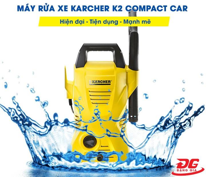 Máy rửa xe Karcher K2 Compact Car