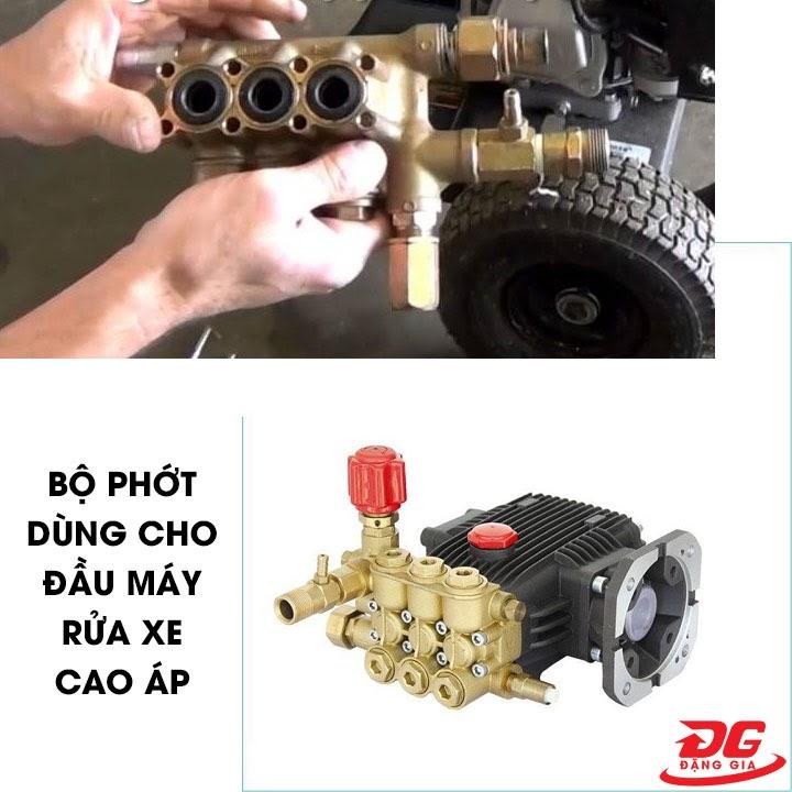 Đặc điểm bộ phớt dầu máy rửa xe cao áp 5.5kW