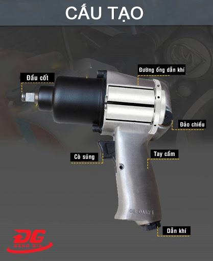 Cấu tạo súng bắn ốc bằng hơi