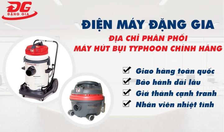 địa chỉ mua máy hút bụi công nghiệp typhoon chất lượng