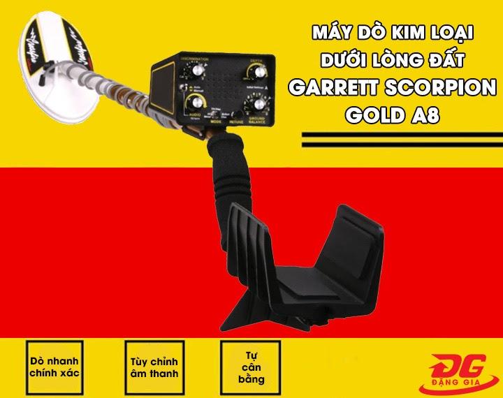 Máy dò kim loại Garrett Scorpion Gold A8