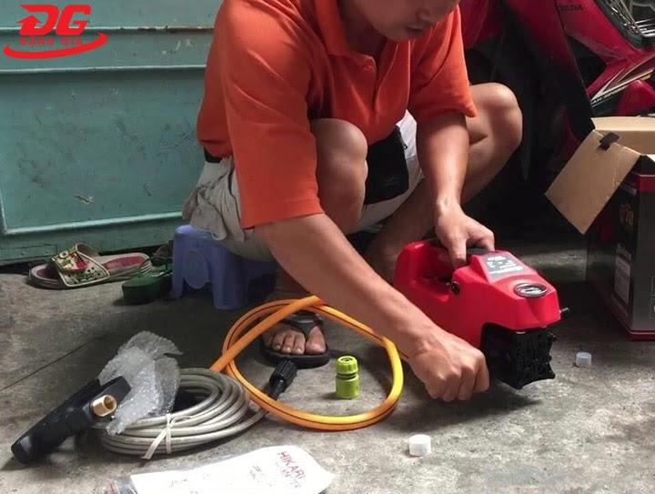 Kiểm tra hoạt động máy trước khi mua