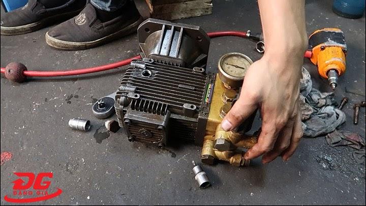Sửa chữa máy rửa xe khi phát sinh lỗi hỏng hóc
