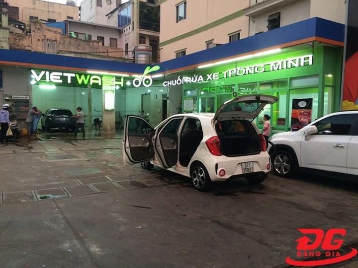 Hệ thống rửa xe thông minh