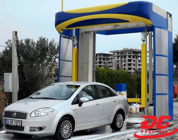 Hiệu quả của công nghệ rửa xe tự động
