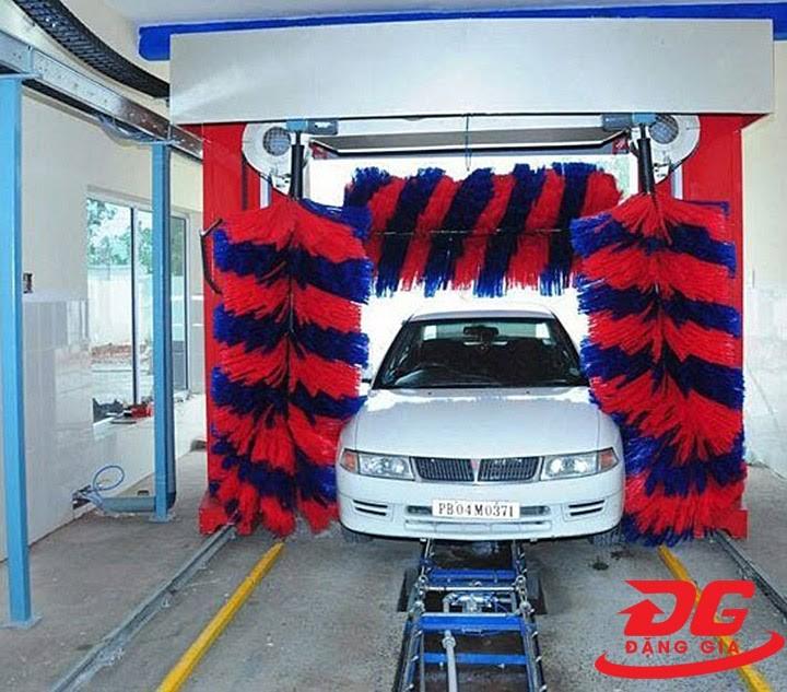 mô hình rửa xe ô tô tự động
