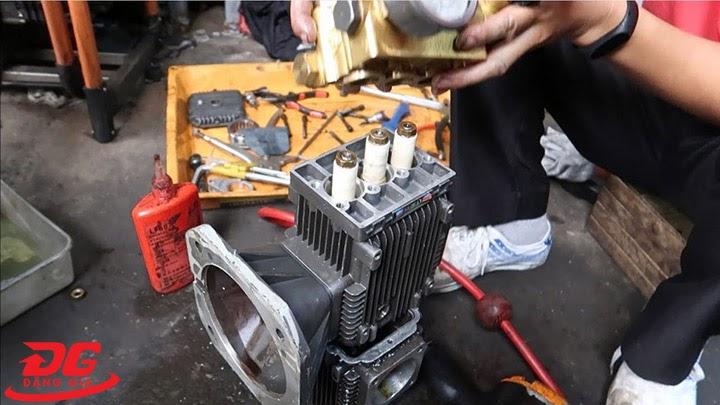Tốn chi phí sửa chữa máy rửa xe cũ