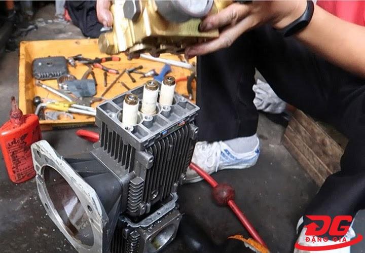 Cách sửa máy rửa xe cao áp chạy lâu