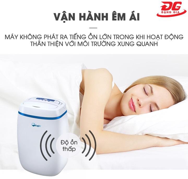 Các sản phẩm máy hút ẩm không khí Fujie đề phát ra tiếng ồn thấp