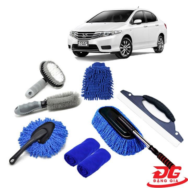 Bộ dụng cụ rửa xe oto
