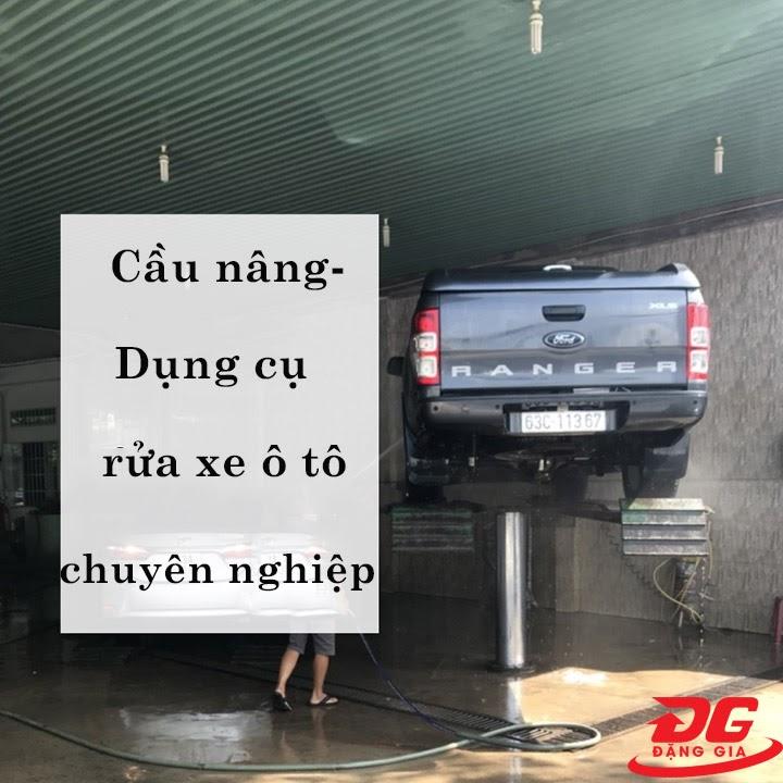 Cầu nâng 1 trụ - Dụng cụ rửa xe oto
