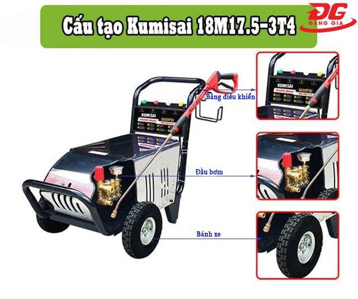 cấu tạo Kumisai 18M17.5-3T4