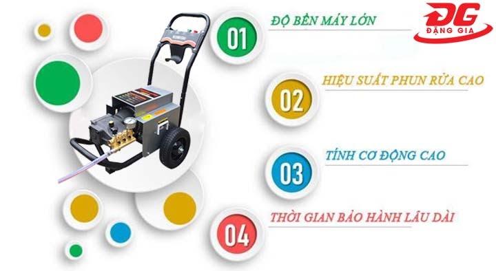 ưu điểm của máy xịt rửa xe Kumisai