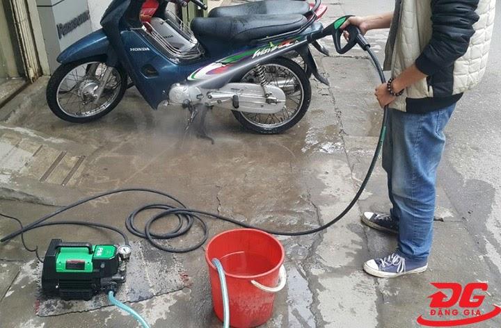 Lưu ý khi sử dụng máy rửa xe mini