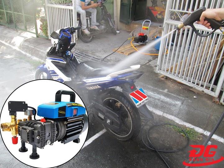 Khả năng phun xịt của máy xịt rửa Nakawa NK-686