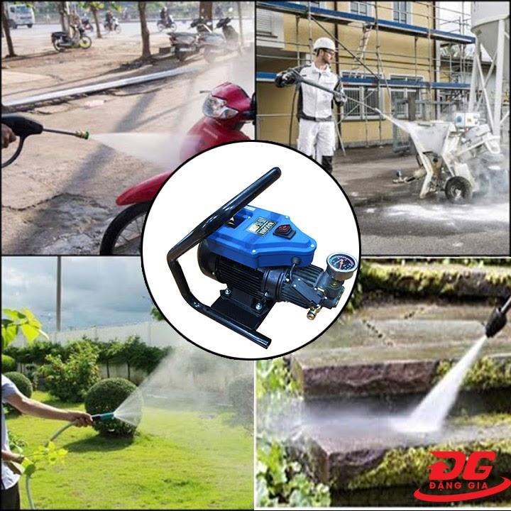 Ứng dụng máy xịt rửa Nakawa 2400W