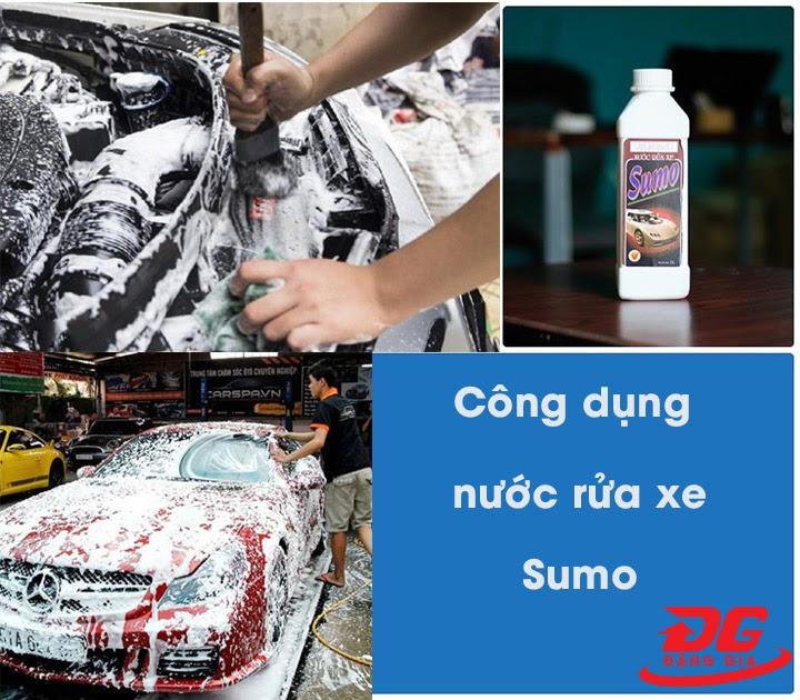 Công dụng nước tẩy rửa Sumo