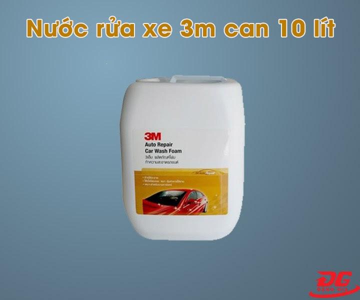Dung dịch rửa xe 3M can 10 lít