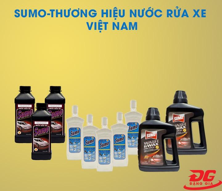 Thương hiệu nước rửa xe Sumo của Việt Nam