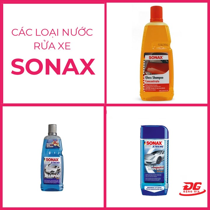 Nước tẩy rửa Sonax đa dạng chủng loại