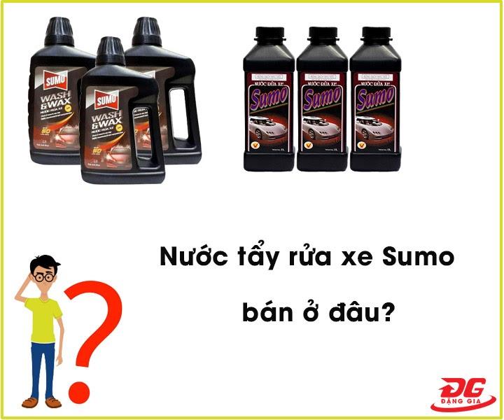 Nước tẩy rửa xe Sumo bán ở đâu