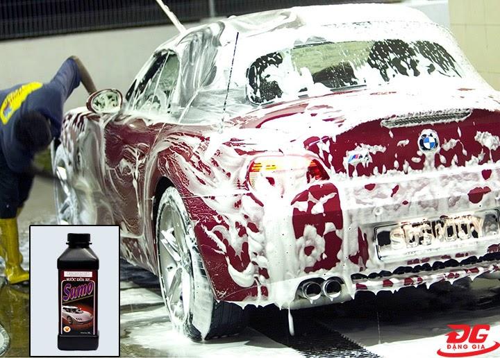 Tính năng của nước rửa xe Sumo