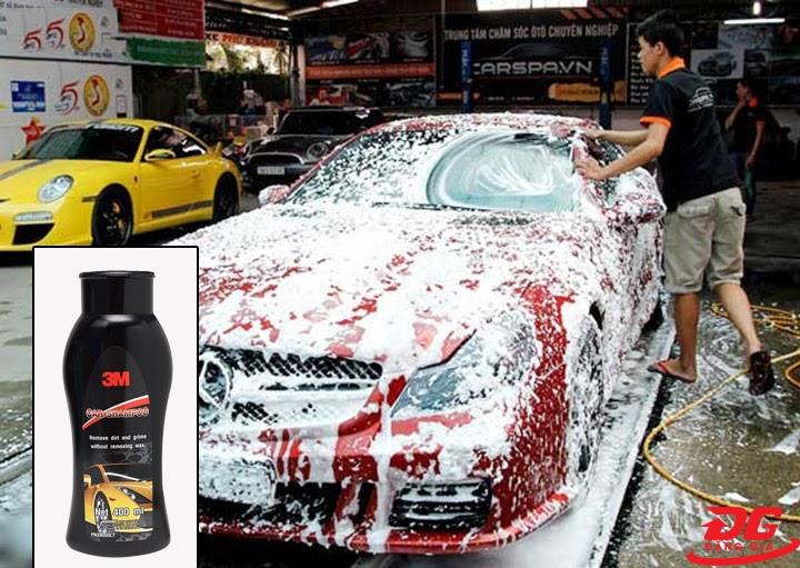Ưu điểm của nước rửa xe 3m