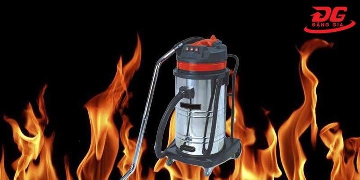 máy hút bụi bị nóng