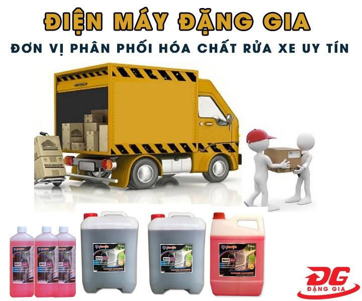 Điện máy Đặng Gia phân phối dung dịch rửa xe uy tín