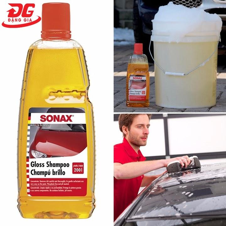 Xà phòng rửa xe oto Sonax