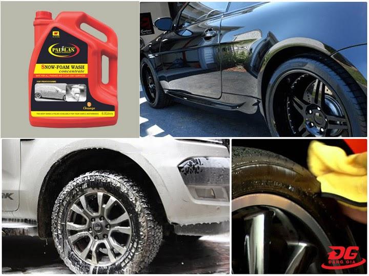 Hiệu quả làm sạch của nước rửa xe Pallas
