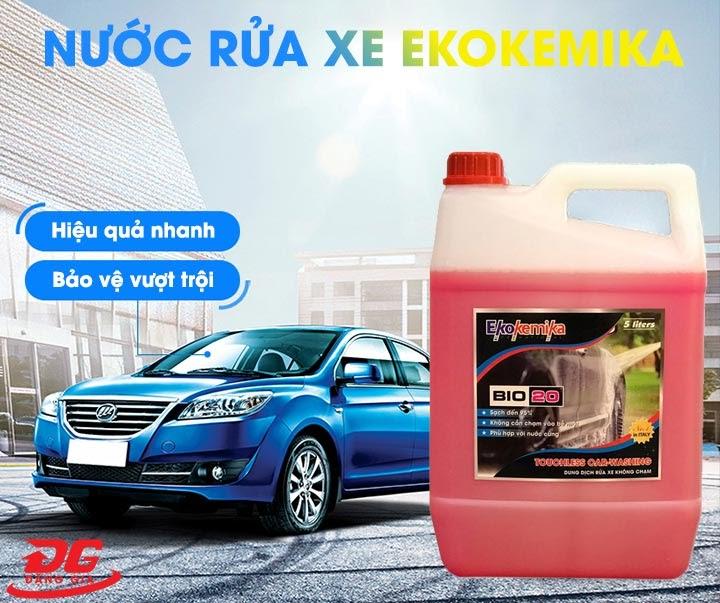 Nước rửa xe không chạm Ekokemika