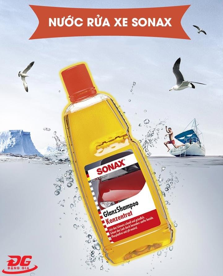 Nước rửa xe không chạm Sonax
