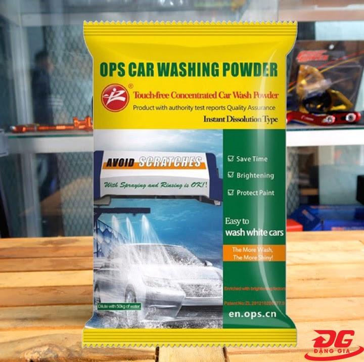 Bảo quản bột rửa xe OPS