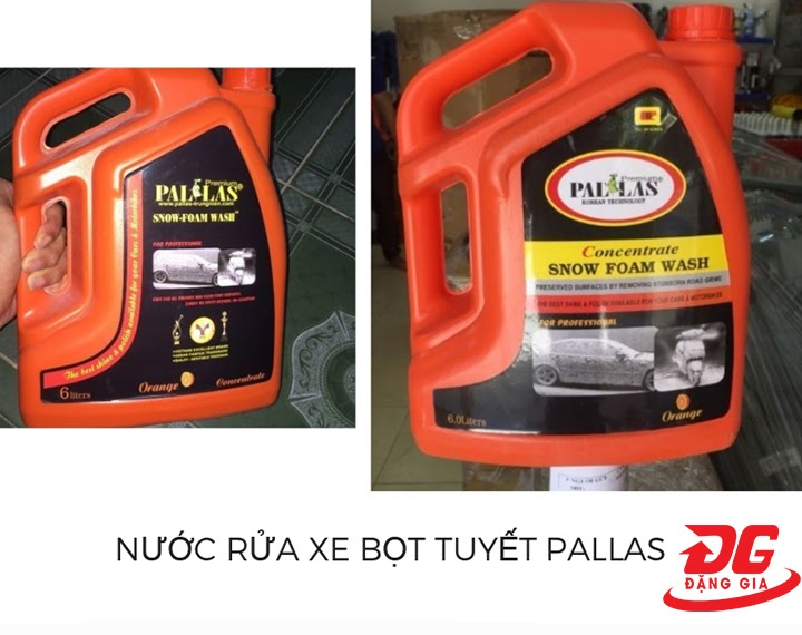 Dung dịch rửa xe Pallas