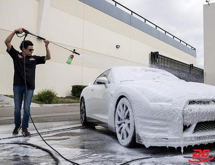 Rửa xe bọt tuyết