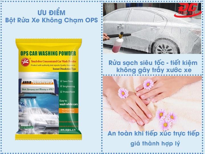 Ưu điểm bột rửa xe OPS